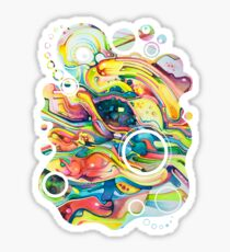 Timeless June 26 2007 - Watercolor Painting Sticker