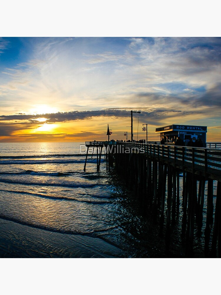 Pismo Beach Pier Sunset by williamsrdan