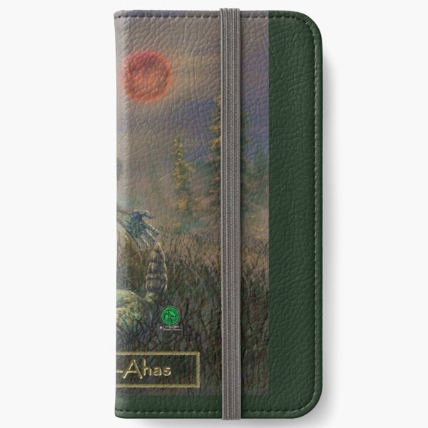 Tamaska-Ahas for Grotesque Moi! iPhone Wallet