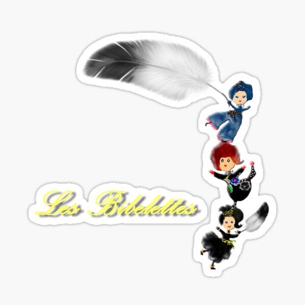 Les plumes Les Bibelettes Sticker