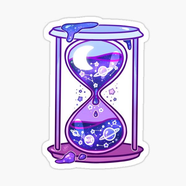 Celestial Hourglass Sticker