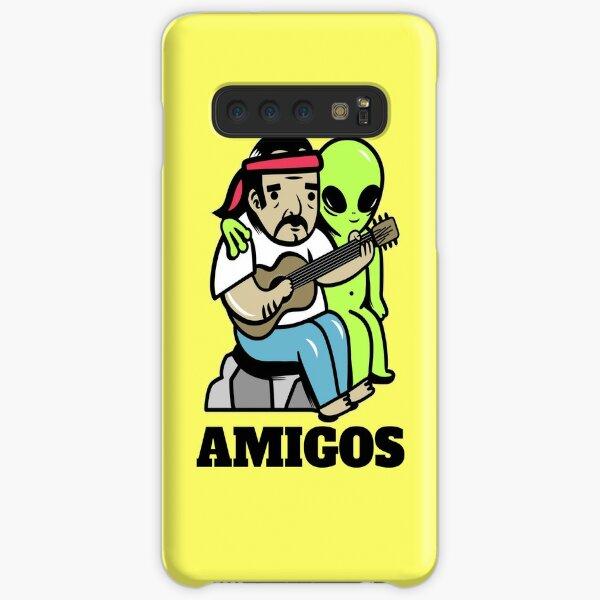 Hippie and alien Samsung Galaxy Snap Case