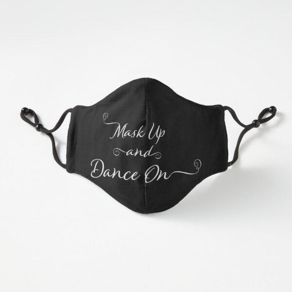 Mask Up And Dance On Fitted 3-Layer