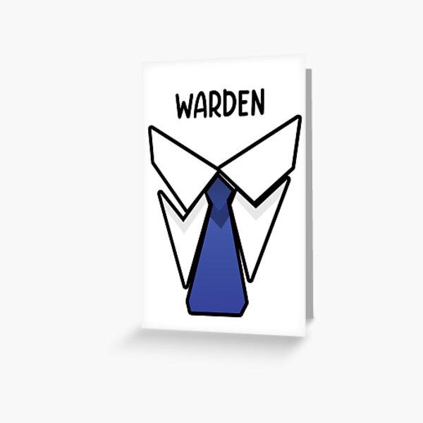 Rainbow Six Warden Greeting Card