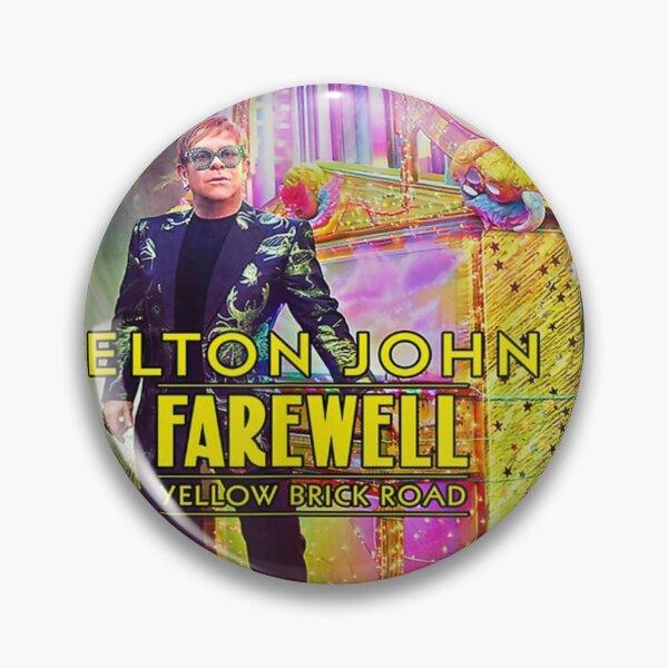Brick Road Elton Goodbye 2019 Yellow And Pin