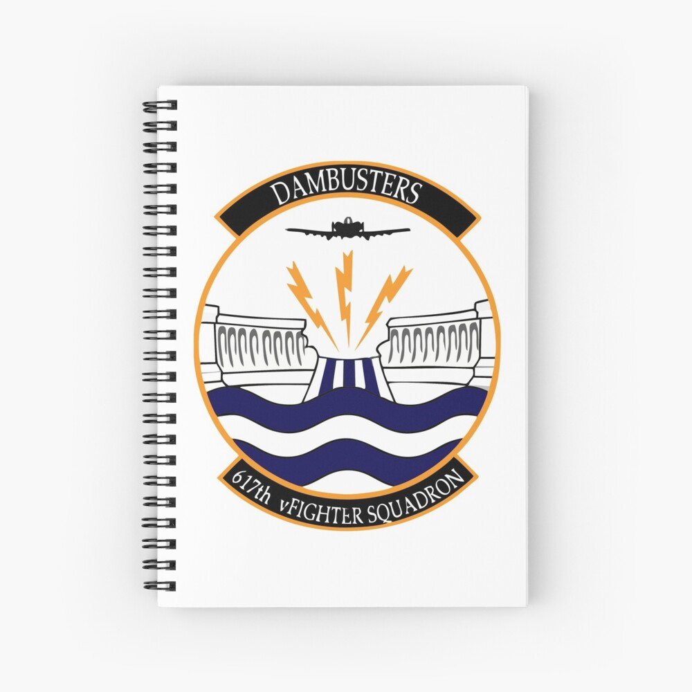 Model 91 - 617 Squadron - Dambusters  Spiral Notebook