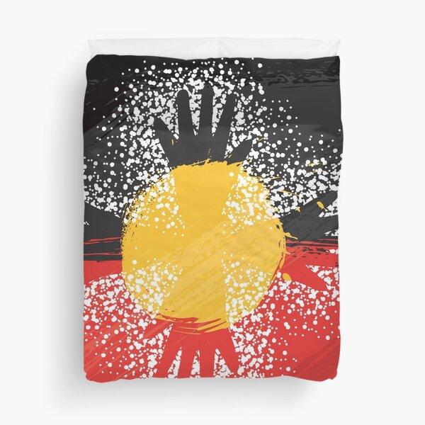 Awesome Aboriginal Art Duvet Cover