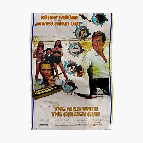 L'homme au pistolet d'or Poster Poster