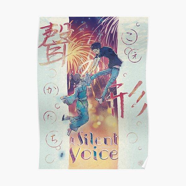 A Silent Voice - Koe no Katachi poster Poster
