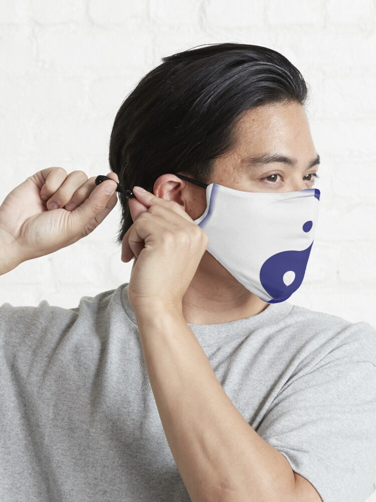 Alternate view of Tao in Blue Mask