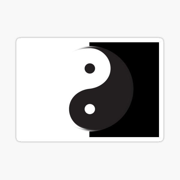 The Tao Sticker