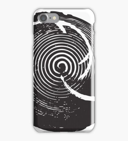 The Twilight Zone : BW // DJ iPhone Case/Skin