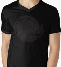 The Twilight Zone : BW // DJ Mens V-Neck T-Shirt