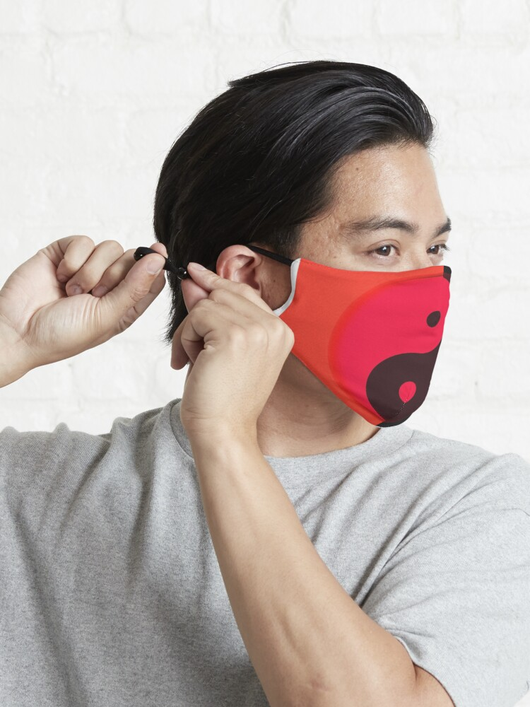 Alternate view of Tao: Black & Red Mask