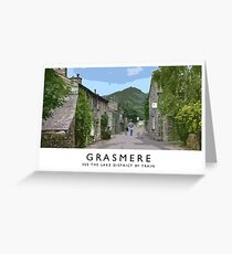 Grasmere (Railway Poster) Greeting Card