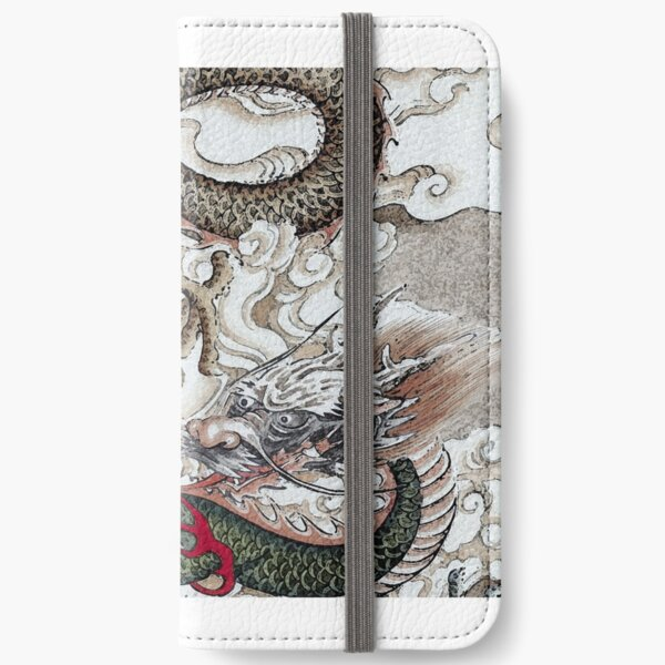 Twin Dragons iPhone Wallet