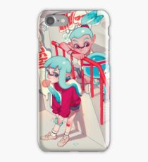 Afternoon at the Skatepark iPhone Case/Skin