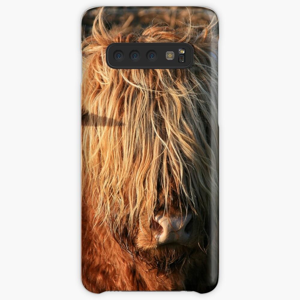 Highland Cattle - Hochlandkuh - Hochländer Hülle & Klebefolie für Samsung Galaxy