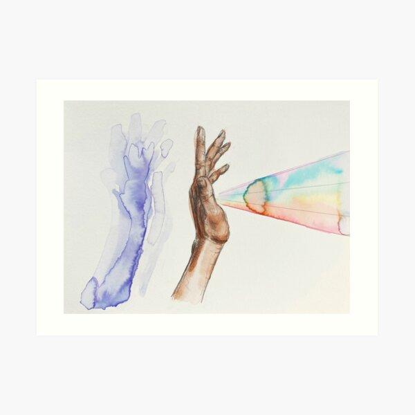 Shadow & Projection  Art Print