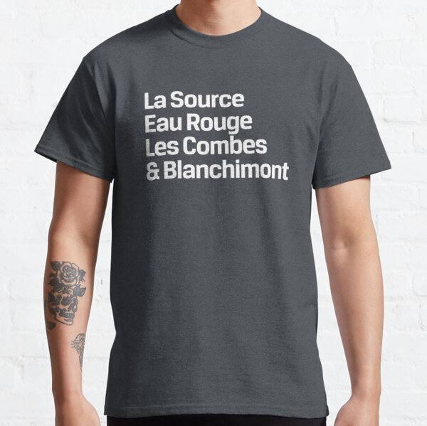 Spa-Francorchamps Corners (White) | Classic T-Shirt