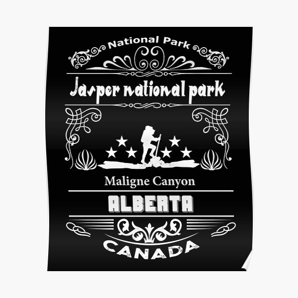 Jasper National Park Posters Redbubble