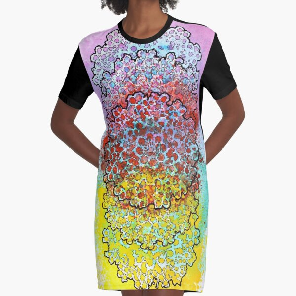 Stain 6 Graphic T-Shirt Dress