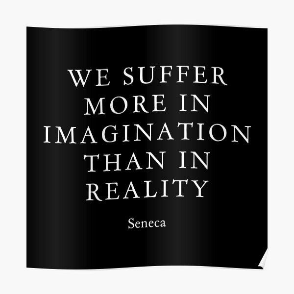 Seneca on Suffering Poster