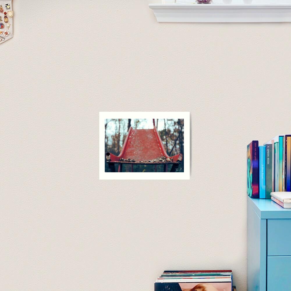 Rusty Slide Art Print