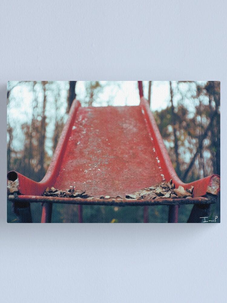 Alternate view of Rusty Slide Canvas Print