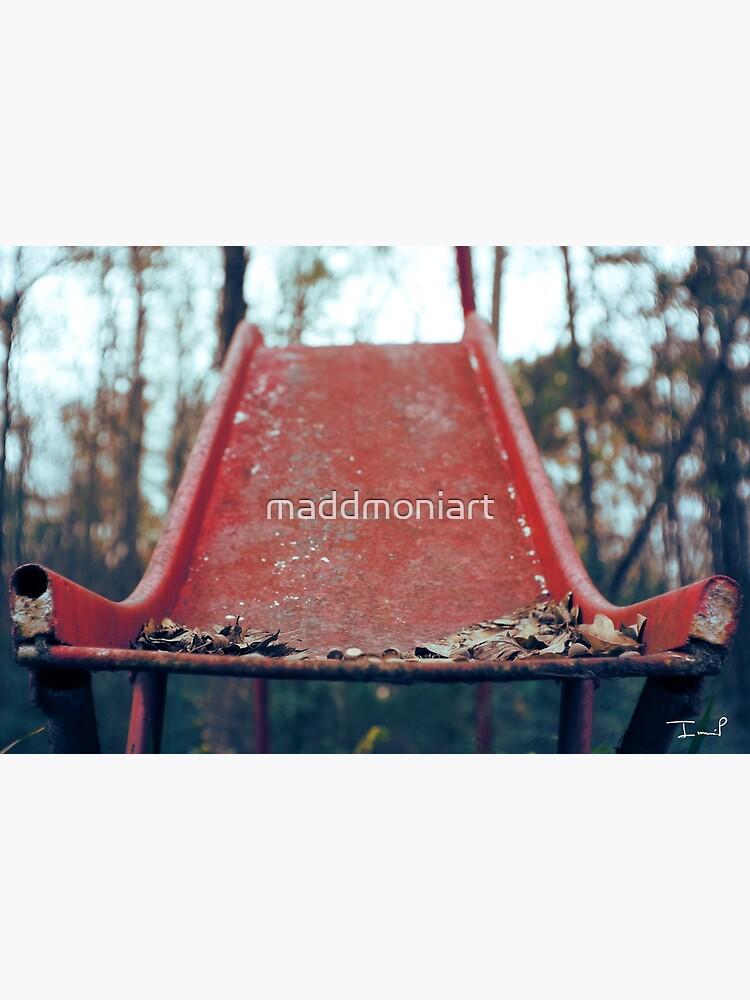 Rusty Slide by maddmoniart