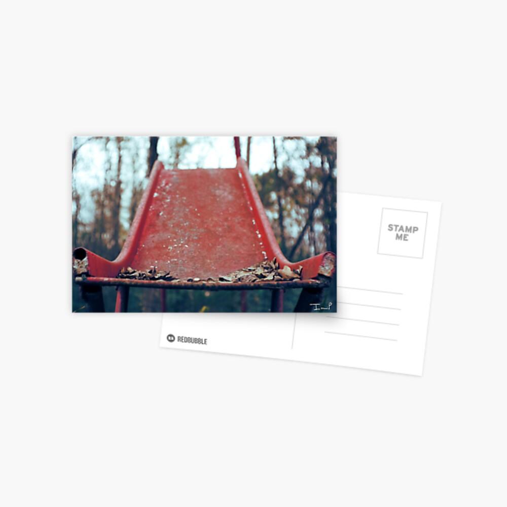 Rusty Slide Postcard