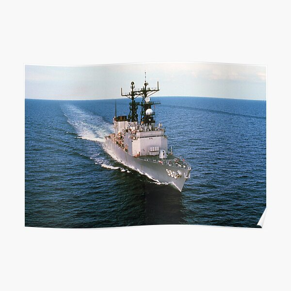 USS MOOSBRUGGER (DD-980) SHIP'S STORE Poster