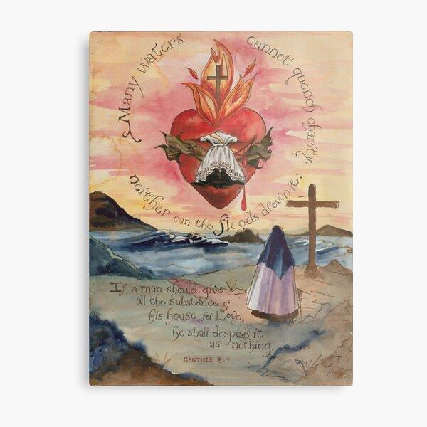 United in the Cross of Christ Metal Print