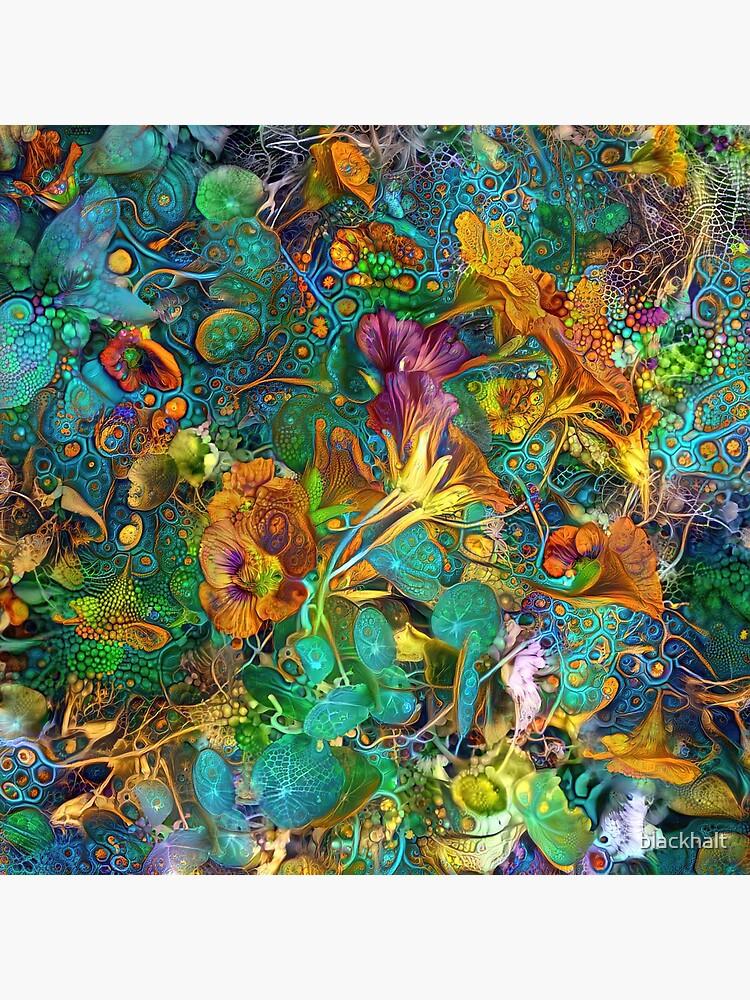 Deep dream abstraction by blackhalt