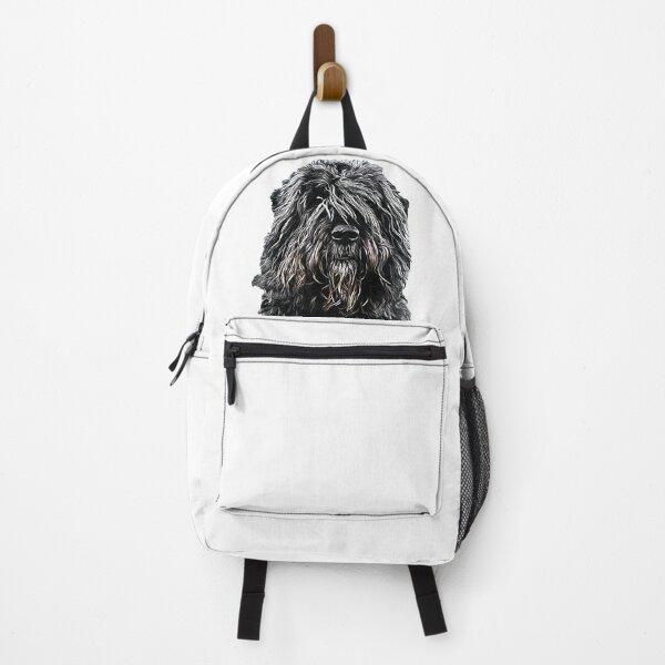 Bouvier des Flandres A stunning Dog breed Backpack