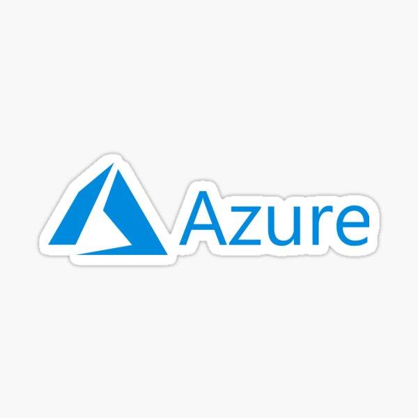 Azure Horizontal Sticker