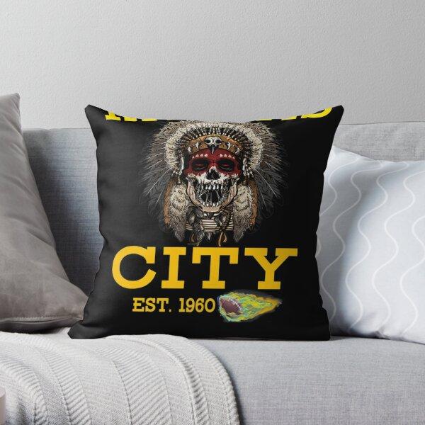Kansas City Retro Vintage KC Football Missouri 2020 Throw Pillow