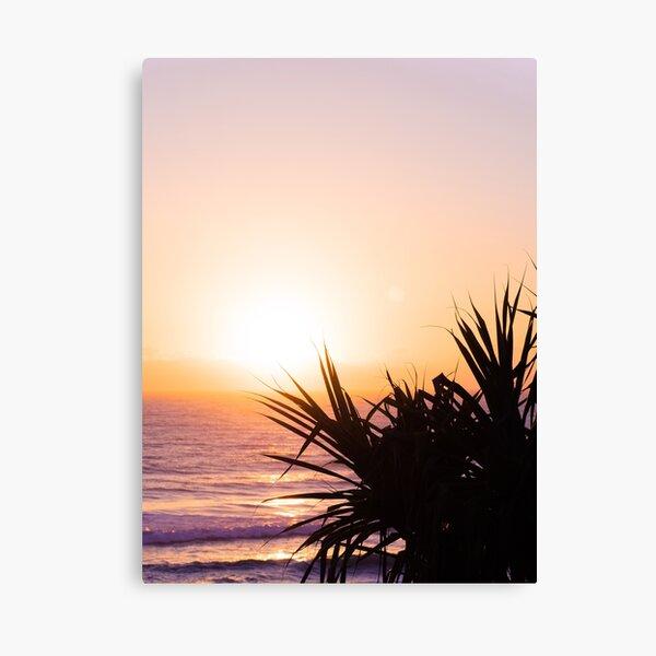 Hazy Summer Sunrise Canvas Print