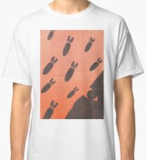living with airstrikes - an illustrated guide Classic T-Shirt