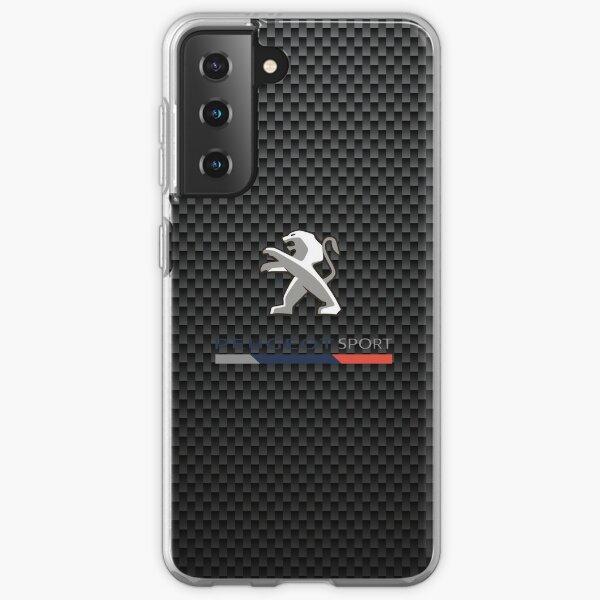 Peugeot Carbon Sport Logo Samsung Galaxy Flexible Hülle