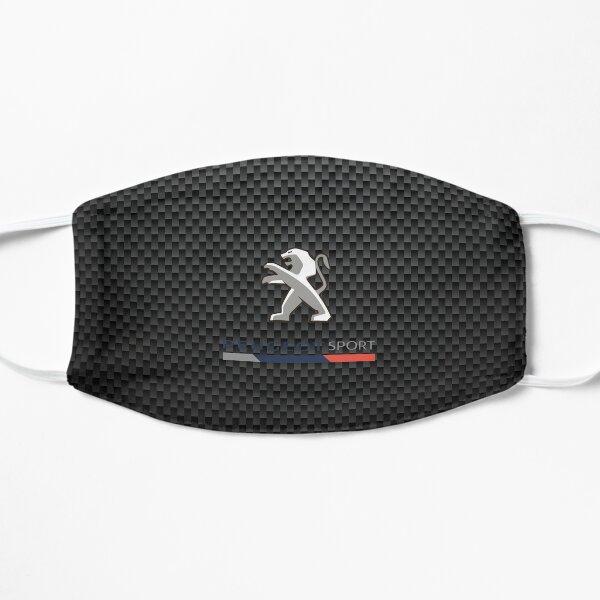 Logo Peugeot sport carbone Masque sans plis