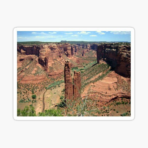 Spider Rock, Canyon De Chelly Sticker