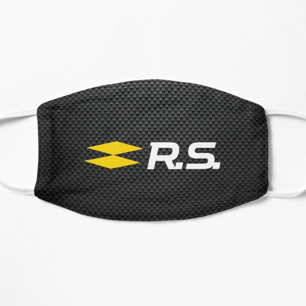 Logo Renault Sport RS carbon Masque sans plis