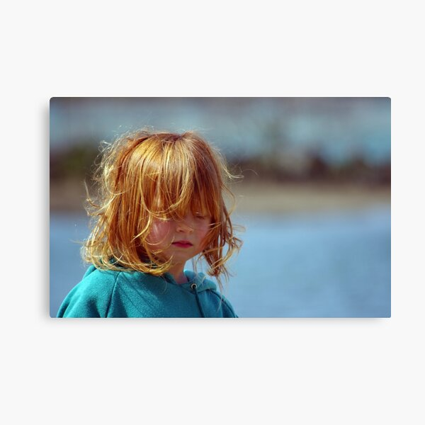 A little girl called Red Canvas Print