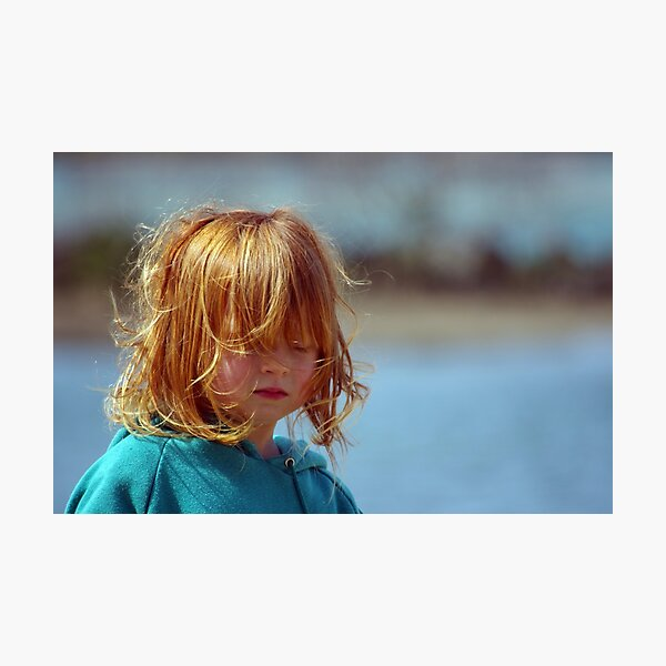 A little girl called Red Photographic Print