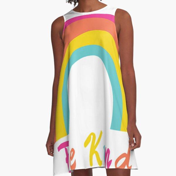 Be Kind! A-Line Dress