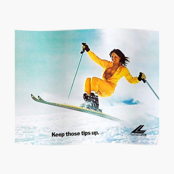 Ski Girl Poster