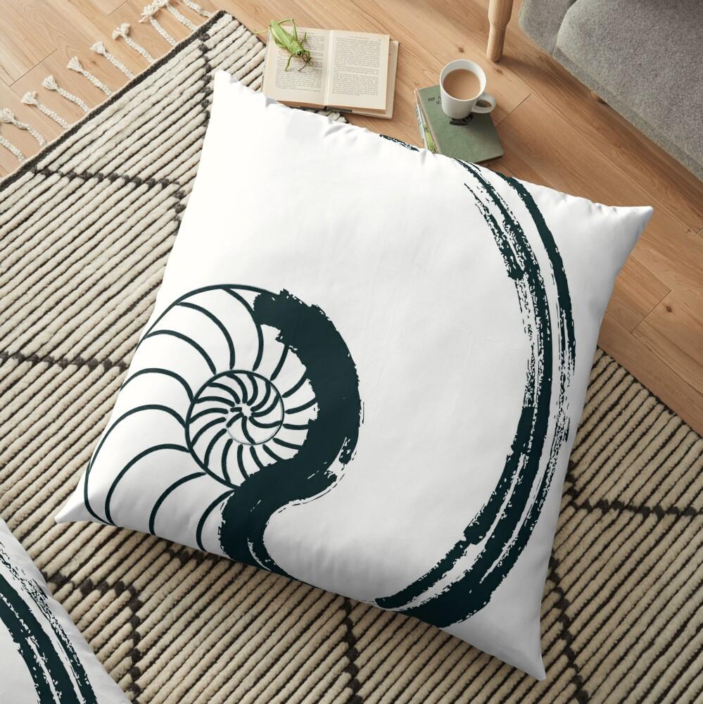 Golden Ratio - Nautilus Floor Pillow