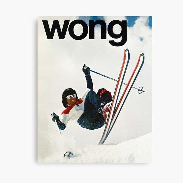 Ski Wong Canvas Print