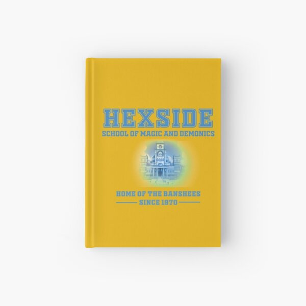 HEXSIDE - The Owl House (Blue Font) Hardcover Journal